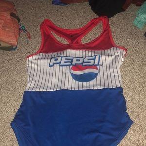 Pepsi bodysuit